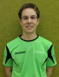 Stv. Jugendleiter Christian Weippert